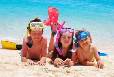 Детский лагерь на море